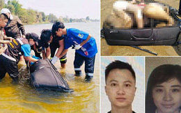 Đi du lịch Thái Lan, cặp vợ chồng bị giết hại bí ẩn, chồng bị nhét xác vào vali trôi sông, vợ biến mất không dấu vết