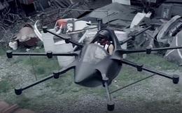 Đây là chiếc 'ô tô bay' nhỏ nhất thế giới: Thiết kế giống drone, chạy bằng điện nhưng cứ 15 phút phải sạc 1 lần