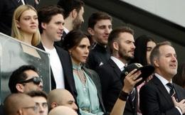 Chủ tịch Beckham diện vest, dẫn gia đình cùng con dâu tương lai đi xem trận đấu đầu tiên của Inter Miami
