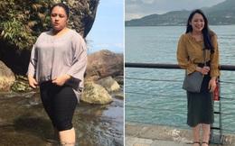 Giảm một lúc hơn 40kg, cô gái như biến thành một con người khác: 'Nhìn xinh như Địch Lệ Nhiệt Ba rồi nè!'