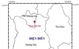 Xảy ra động đất ở Điện Biên