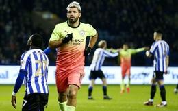 """Aguero là """"vua"""" ghi bàn ở Manchester"""