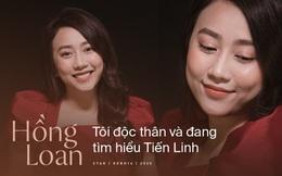 """Hồng Loan lần đầu chia sẻ sau khi xác nhận tìm hiểu Tiến Linh: """"Chúng tôi đâu ra sản phẩm gì mà lấy tình cảm để chiêu trò"""""""