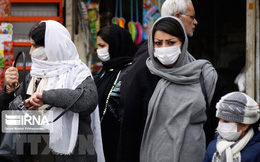 Iran công bố thêm 17 trường hợp tử vong, số ca nhiễm mới tăng nhanh