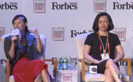 """Chủ tịch FPT Retail Nguyễn Bạch Điệp được gọi là """"người đàn bà thép"""", shark Linh phản đối: Trong công việc ai cũng phải khó tính, tại sao lãnh đạo nam khó được cho là xuất sắc, lãnh đạo nữ khó lại bị gọi là """"thép""""?"""