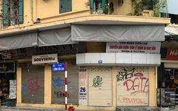 Nhiều cửa hàng tại phố cổ Hà Nội tạm dừng hoạt động