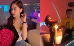 Lộ ảnh Quang Hải và Nhật Lê đi chơi 8/3, chàng tặng nàng đoá hồng 60 bông đong đầy tình yêu