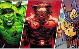 10 nhân vật có khả năng tự hồi máu mạnh nhất Marvel, hai 'bố con' Wolverine còn chưa chạm tới top 5