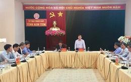 Một lãnh đạo UBND tỉnh Kon Tum và 3 cán bộ cách ly 14 ngày