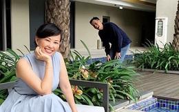 """Shark Linh lại đăng ảnh truyền năng lượng tích cực cho chị em, song nhân vật """"kỳ lạ"""" phía sau hot mom 43 tuổi mới thu hút chú ý"""