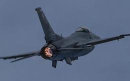 Máy bay chiến đấu F-16 của Pakistan rơi khi luyện tập