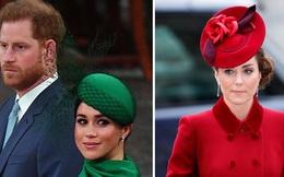 """Vừa rời Anh, Meghan Markle đã quay sang nói xấu chị dâu Kate, chỉ trích hoàng gia Anh thiếu """"hơi ấm gia đình"""""""