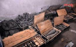 Phát hiện xưởng sản xuất vũ khí cực lớn của phiến quân ở Syria