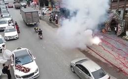 Thông tin mới vụ đốt pháo tại đám cưới ở huyện Sóc Sơn