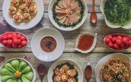 Mâm cơm cuối tuần 8 món ngon đẹp hơn tiệc nhà hàng khiến ai cũng phải ngưỡng mộ trầm trồ