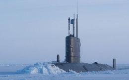 Tàu ngầm Mỹ mắc kẹt trong băng tuyết gần căn cứ của Hải quân Nga