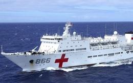 Trung Quốc chế tạo tàu bệnh viện đối phó dịch bệnh truyền nhiễm