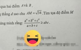 """Giáo viên toán """"bắt trend"""" nhanh hơn cả học sinh: Nhắc các em học chăm chỉ mà cũng tung thơ thả thính như này"""