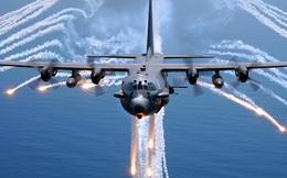 Video: Cường kích AC-130 Mỹ bắn đạn thật ngoài khơi Iran