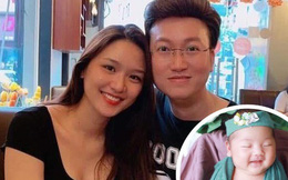 Sỹ Luân và bạn gái 7 năm chào đón con đầu lòng, vì dịch bệnh nên không dám tổ chức tiệc mừng