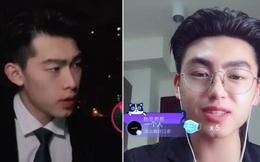 """Ấn nhầm tắt filter làm đẹp lúc livestream, hot boy mệnh danh """"bản sao Đặng Luân"""" tự bóc mẽ nhan sắc thật của mình"""