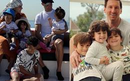 Ronaldo, Messi cùng đón nhận lời chúc ngọt ngào từ 'một nửa' thân yêu