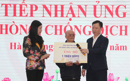 Mặt trận thành phố Hà Nội tiếp nhận ủng hộ phòng chống dịch Covid-19 trị giá hơn 4 tỷ đồng