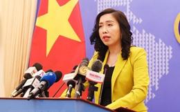 """Việt Nam không công nhận bất kỳ yêu sách nào dựa trên """"đường chín đoạn"""""""