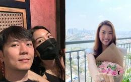 """Lộ diện chân dung """"soái ca"""" U40 sắp kết hôn với Á hậu Thúy Vân"""