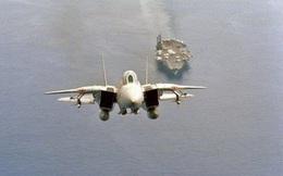 """[ẢNH] """"Mèo đực"""" F-14 Tomcat trên tàu sân bay Mỹ, uy lực và huyền thoại"""