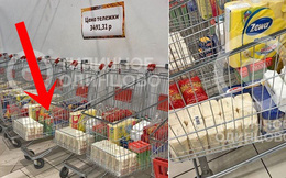 Tránh tình trạng khách đến mua chen lấn tích trữ hàng thời Covid-19, siêu thị Nga nghĩ ra cách bán hàng khiến thế giới thán phục, muốn học hỏi ngay lập tức