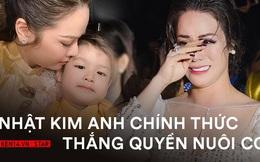 Nhật Kim Anh bật khóc ngay tại toà, chính thức thắng quyền nuôi con hậu ly hôn sau thời gian dài đấu tố chồng cũ!