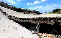 Sụt lún kinh hoàng vùng ngọt hoá Cà Mau