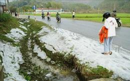 Cảnh báo mưa dông, mưa đá ở miền Bắc