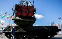 """Tên lửa """"chặn được tất cả mục tiêu"""" của Nga khoe sức mạnh vũ bão trong tập trận"""
