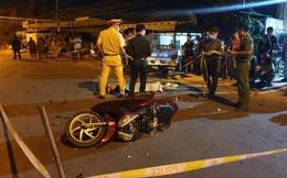 Hai bé gái đi xe máy va chạm với xe ba gác, 1 người tử vong