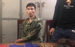 Trắng đêm bắt 'con nghiện' buôn ma túy từ Lào về Việt Nam