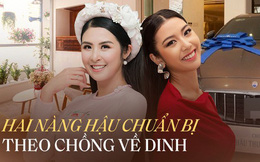So kè khối tài sản của HH Ngọc Hân và Á hậu Thúy Vân trước khi về nhà chồng: Nhà sang, xế xịn, đồ hiệu nhìn mà hoa mắt!
