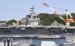 Phát hiện ca nhiễm Covid-19, tàu sân bay Mỹ bị phong tỏa tại căn cứ Nhật Bản
