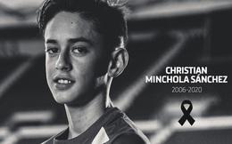 Tài năng triển vọng của bóng đá thế giới qua đời ở tuổi 14