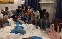 Nhóm thanh niên sử dụng ma túy tập thể trong resort cao cấp