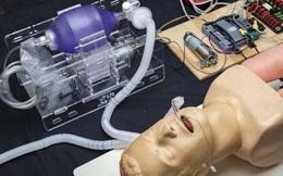 MIT phát hành miễn phí bản thiết kế máy thở giá rẻ, có thể được sao chép tại mọi bệnh viện trên thế giới