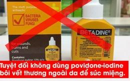 Súc miệng có phòng được COVID-19 và các bệnh đường hô hấp khác hay không?