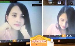 Giảng viên Học viện Tài Chính sở hữu nhan sắc 'cân đẹp' camera thường khi dạy online khiến học trò thả tim rần rần
