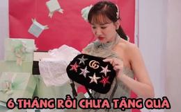 """Hari Won lần đầu bắt trend quay clip đập hộp, tiện """"bóc phốt"""" luôn ông xã Trấn Thành"""