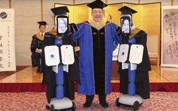 """Sinh viên Nhật """"cử"""" Robot đi nhận bằng tốt nghiệp để tránh dịch"""