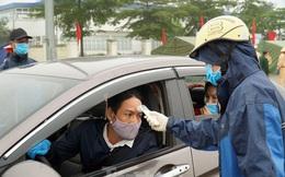 CSGT phối hợp liên ngành kiểm tra thân nhiệt tài xế trên cao tốc