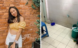 Dọn dẹp kí túc xá cách ly thành nơi chill hết nấc, nữ du học sinh Mỹ còn dành tặng món quà siêu bất ngờ cho cán bộ