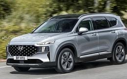 Hyundai Santa Fe 2021 sẽ ra mắt vào tháng 5 với nhiều thay đổi đáng chú ý