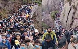 Giới chuyên gia cảnh báo rủi ro lớn khi người dân Trung Quốc tụ tập quá đông đúc